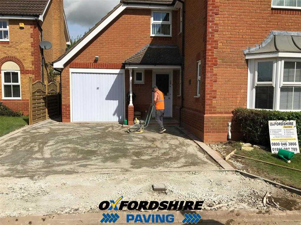 New Base For Tarmac Driveway in Oxfordshire