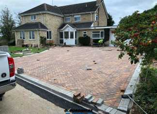 Block Paving Company in Waterperry, Oxfordshire