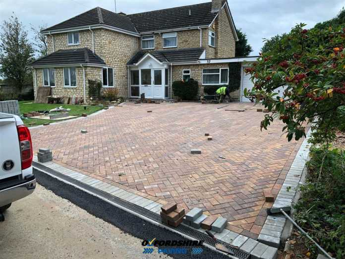Block Paving Company in Great Tew, Oxfordshire