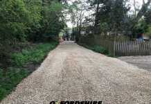 Private Road Gravel Installation