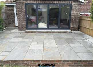 Upper Heyford Patio Installations