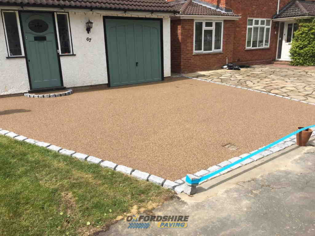 Resin Driveway With Granite