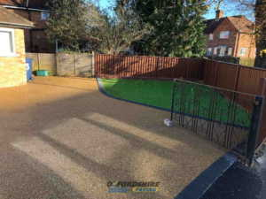 Resin Bond Driveway Installation in Oxfordshire