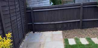 Indian Sandstone Patio in Bicester
