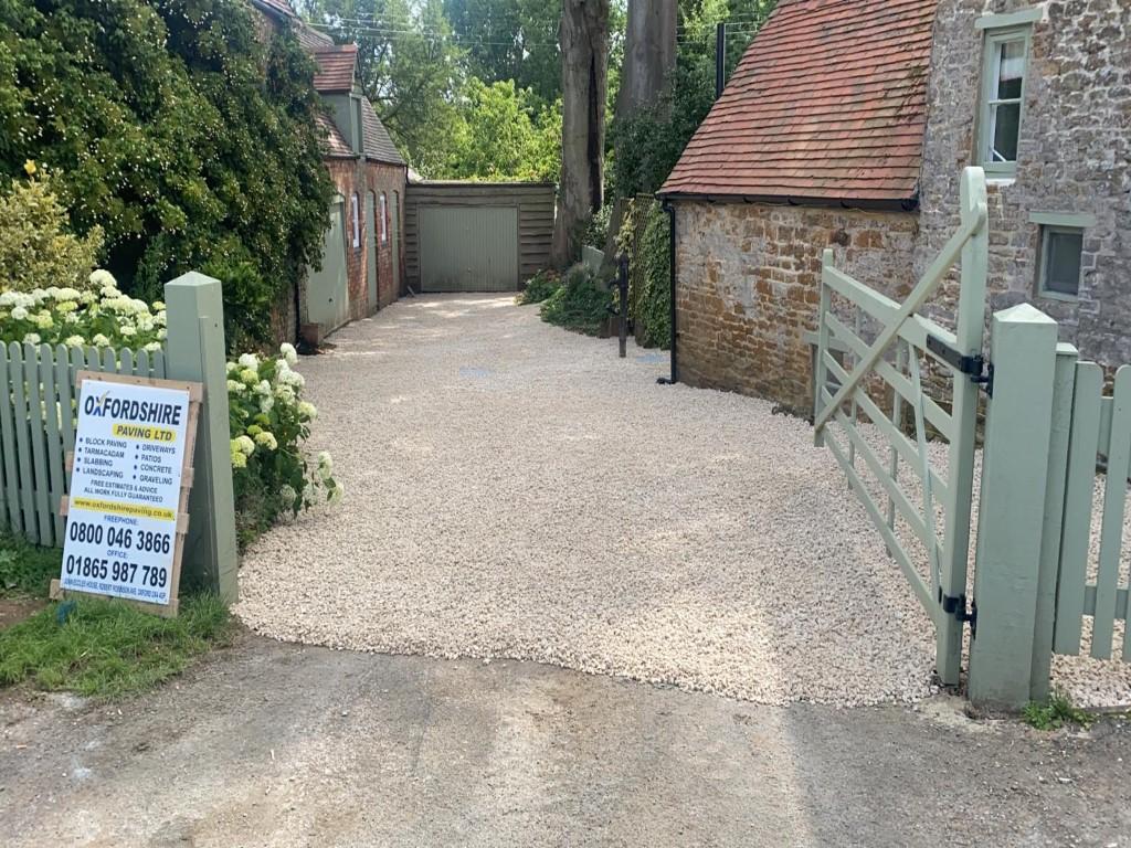 Gravel Driveway in Banbury