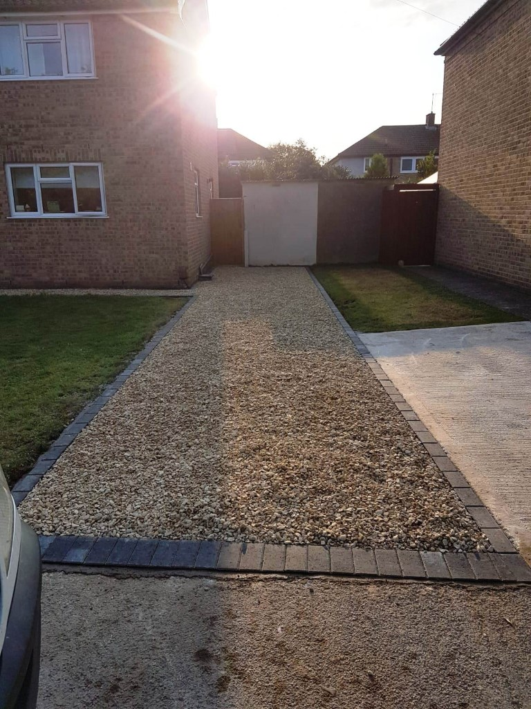 Cotswold Gravel Driveway in Abingdon, Oxfordshire