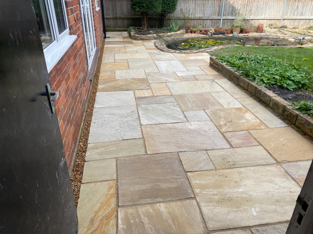 Desert Sand Patio in Banbury