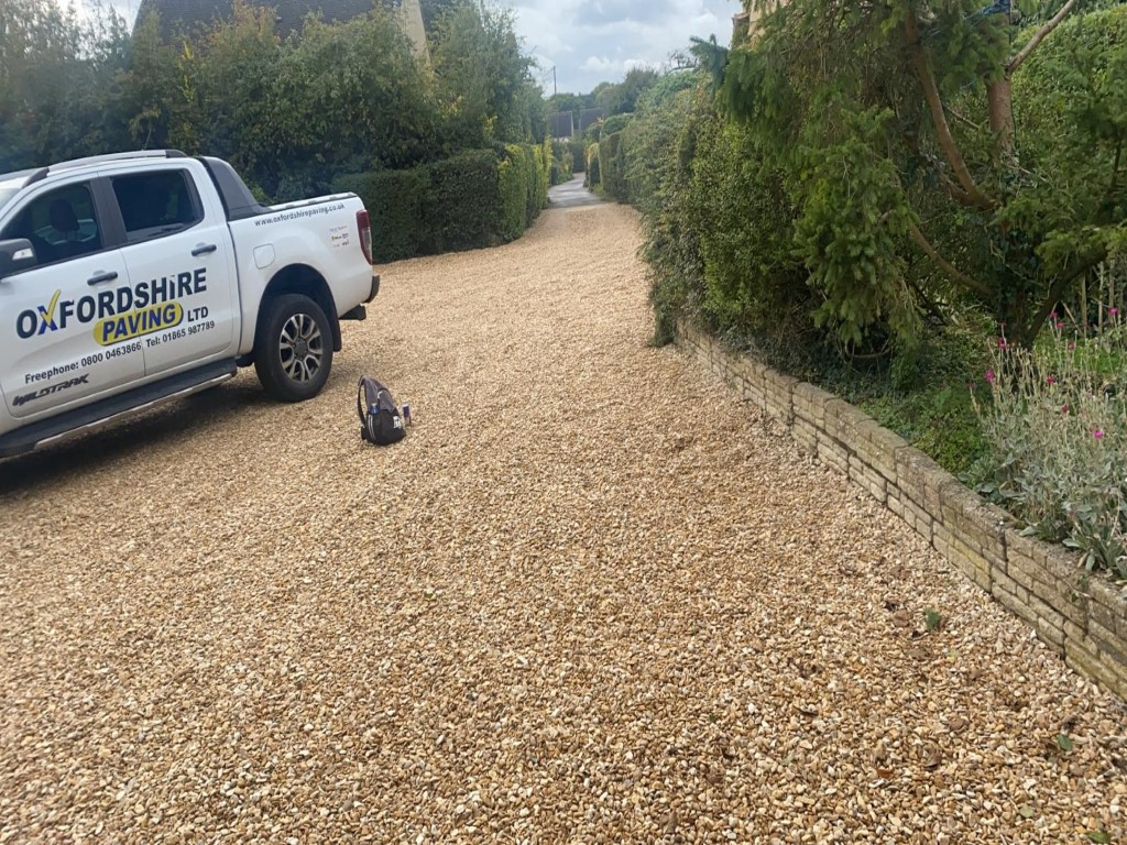 Gravel Driveway in Bicester