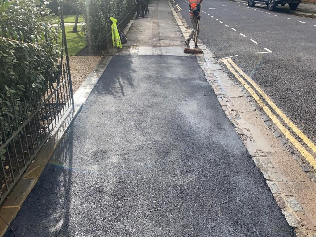 Tarmac Sidewalk in Botley