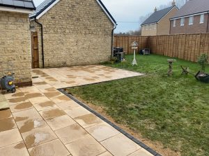 Examples of Patio Projects throughout Oxfordshire