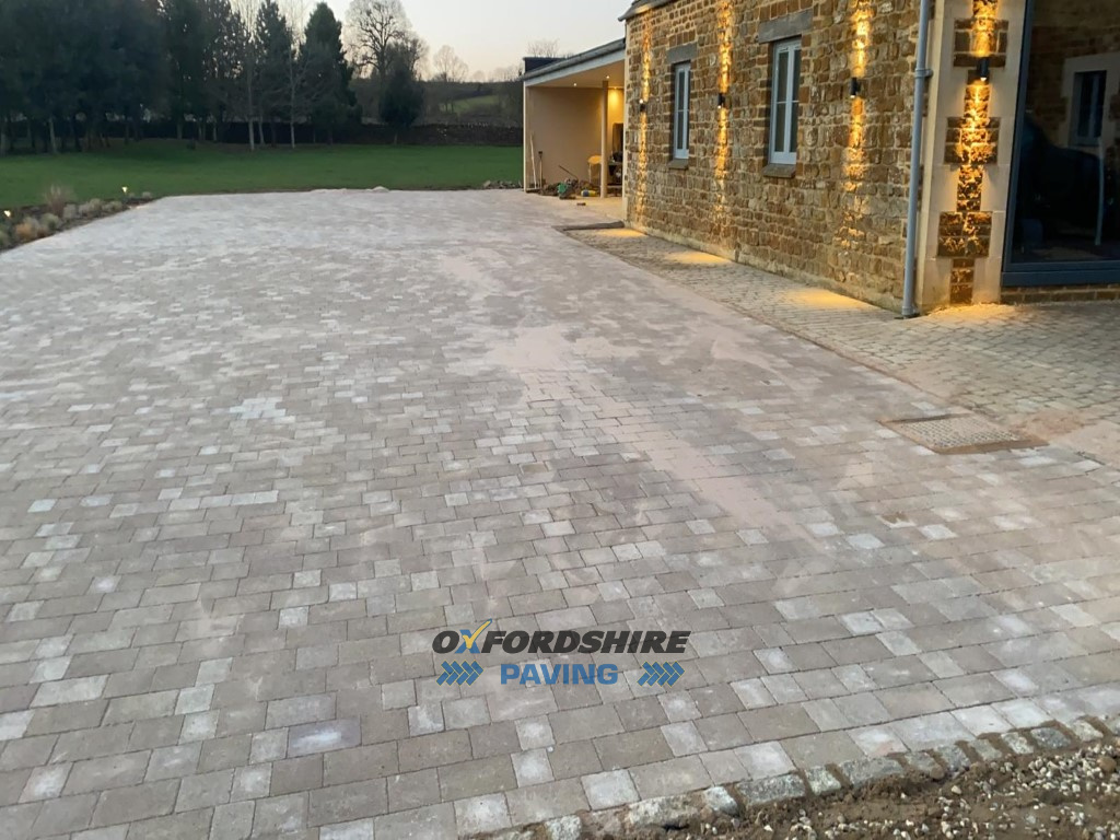 Tegula Paved Driveway in Chipping Norton