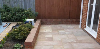 Indian Sandstone Patio in Stadhampton, Oxford