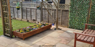 Patio Re-Installation in Witney, Oxfordshire