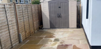 New Back Patio and Pathway in Kidlington