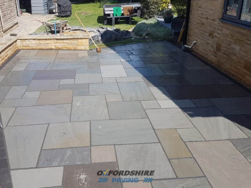 Silver Grey Patio in Chipping Norton