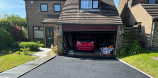 Tarmac Driveway with Slabbed Pathway in Bicester