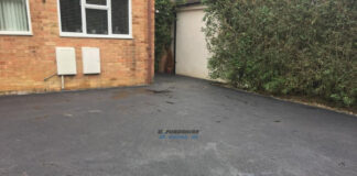 Tarmac Driveway with Granite Border in Witney