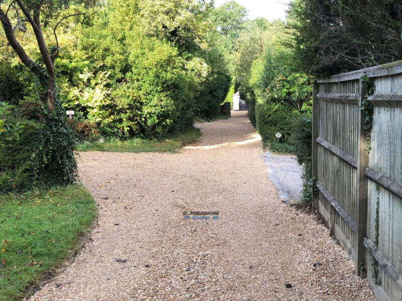 Long Gravel Lane in Oxford