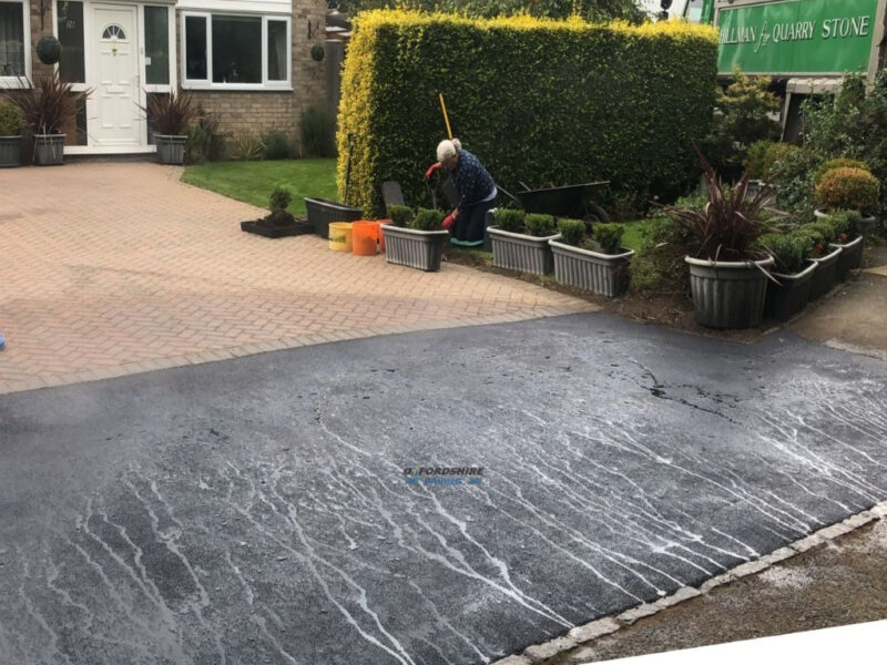 Tarmac Dropped Kerb Completed in Bicester